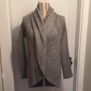Kenar grey cardigan